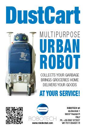DustCart Urban Robot ROBOTECH srl