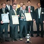 Premiazione-robotech-EURON-Praga-2008 Premi e Riconoscimenti